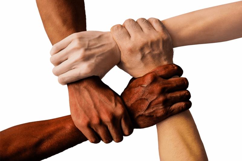 Hands-together